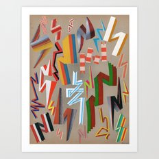 sampler3 Art Print