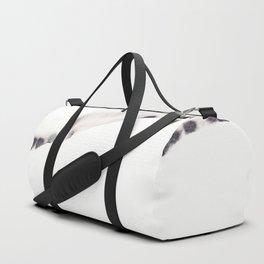 Landscape silhouette Duffle Bag
