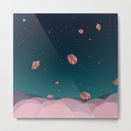 Luna Diamonds Metal Print