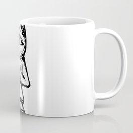 The Moon   Moon Decor   Moon Design   Moon Sketch Coffee Mug