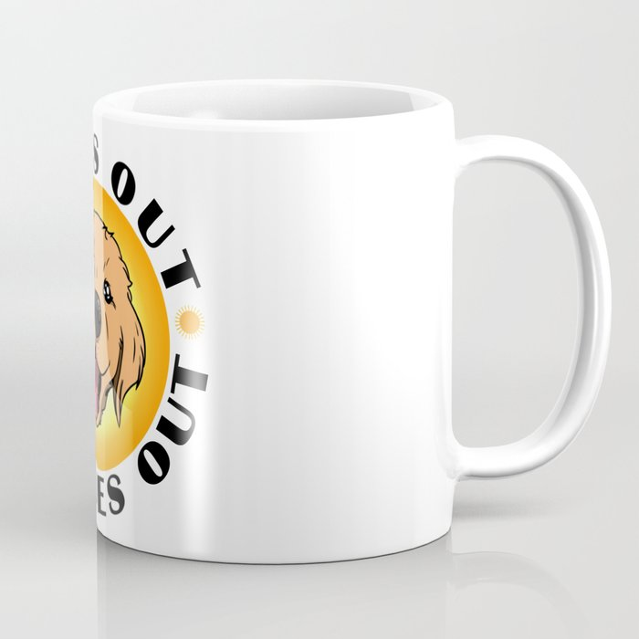 Sun's out - Tongues out (Labrador) Coffee Mug