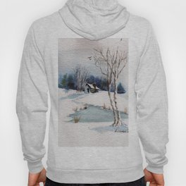 Winter At the Cabin Hoody