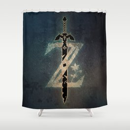 A Warrior symbol Shower Curtain