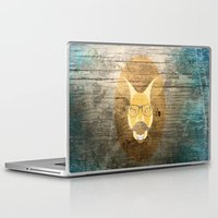 kangaroo Laptop & iPad Skins featuring Kangaroo by Janice