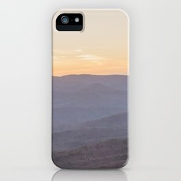 North Georgia Mountains iPhone Case