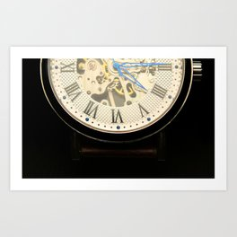vintage time Art Print