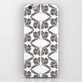decadence flower pattern iPhone Skin