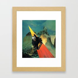 lect Framed Art Print