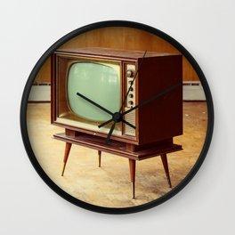 Vintage Viewing Wall Clock