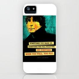 Neil Gaiman Quote iPhone Case