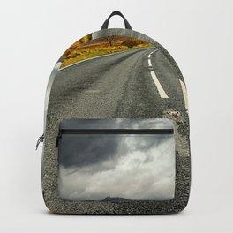 Winding Welsh Road Backpack