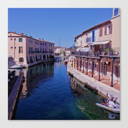 French canal Canvas Print