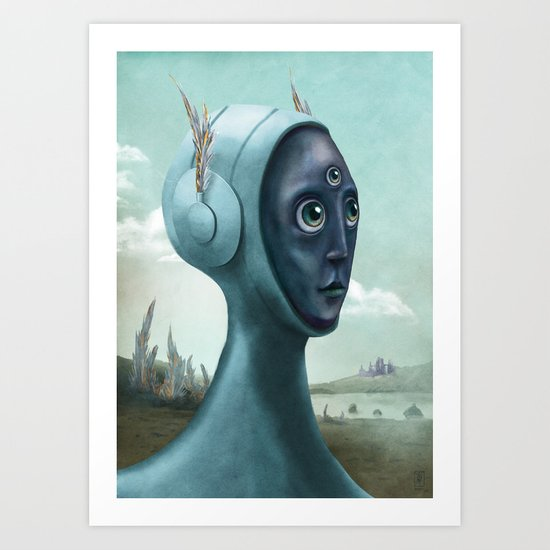 Archaeology of Dreams Art Print