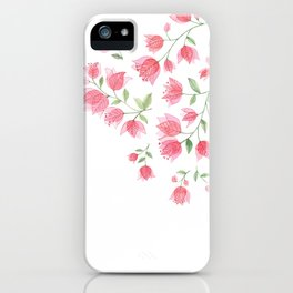 Bougainvillea Blossoms iPhone Case