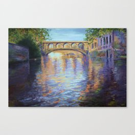 The River Cam Canvas Print