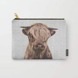 Highland Calf - Colorful Carry-All Pouch