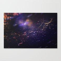 SparkleWeb Canvas Print