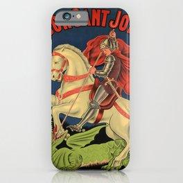 retro vintage demaneu arreu licor sant jordi poster iPhone Case
