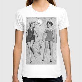 4 Girls Sunbathing T-shirt