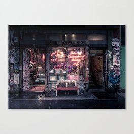 Underground Boxing Club NYC Canvas Print