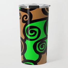 Coils Abstract Travel Mug