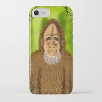 yeti iPhone & iPod Cases featuring Yeti by Designs By Misty Blue (Misty Lemons)