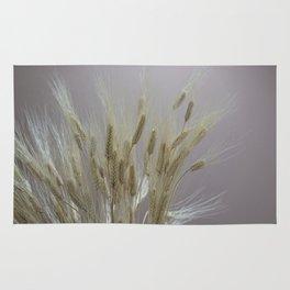wheat ears in the farm Rug