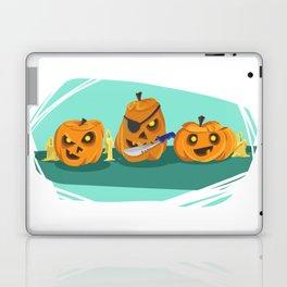 Silly Halloween Pumpkins Laptop & iPad Skin