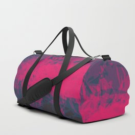 Shattered Purple Duffle Bag