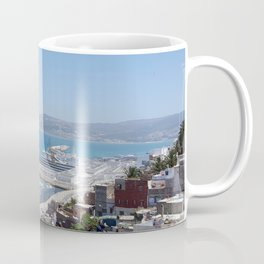 Port in Tangier, Morocco Coffee Mug