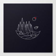 Visit Utopia Canvas Print