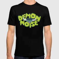 Demon Noise Black LARGE Mens Fitted Tee