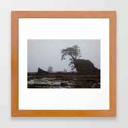 The Ocean Tree Framed Art Print