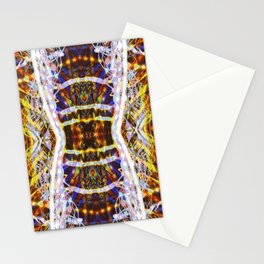 Light Dance Kaleidoscope Edit 1 Stationery Cards