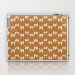 cute little pug dogs girl and boy pattern Laptop & iPad Skin