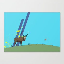 The Lone Stag Canvas Print