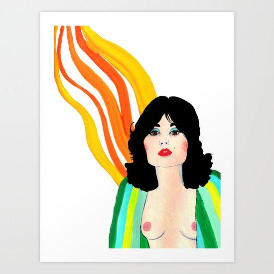 Seventies Lust Art Print