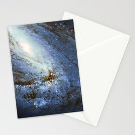 Spiral Galaxy M66 Messier 66 Stationery Cards