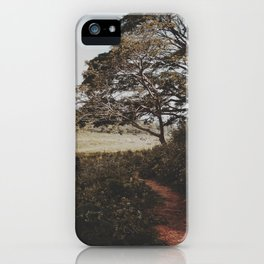 Into the field  iPhone Case
