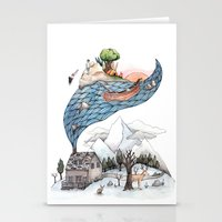 camus Stationery Cards featuring Invincible Summer by Brooke Weeber