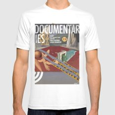 Vans and Color Magazine Customs White MEDIUM Mens Fitted Tee