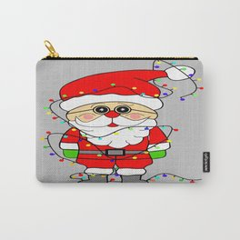 Silly Santa Carry-All Pouch