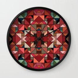 Latino Tiles Wall Clock