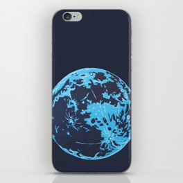 Turquoise Moon iPhone Skin