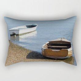 Row Boats Rectangular Pillow