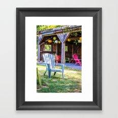 Relax in Colour Framed Art Print