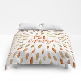 Pumpkin Spice Lifestyle Comforters