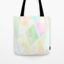 Re-Created Mirrored SQ LIX by Robert S. Lee Tote Bag