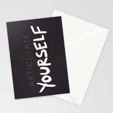 Articulate Yourself Stationery Cards