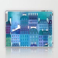 Paris Blues Laptop & iPad Skin